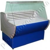 Витрина холодильная с прямым стеклом 1300 мм