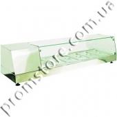 Витрина холодильная с прямым стеклом на 5 гастроемкостей