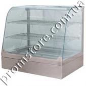 Витрина тепловая с гнутым стеклом